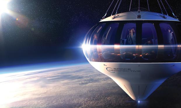 """""""Space Perspective"""" veut proposer du tourisme dans la stratosphère"""