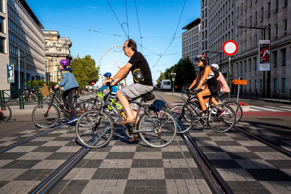 Retour en images sur une Journée sans voitures à Bruxelles