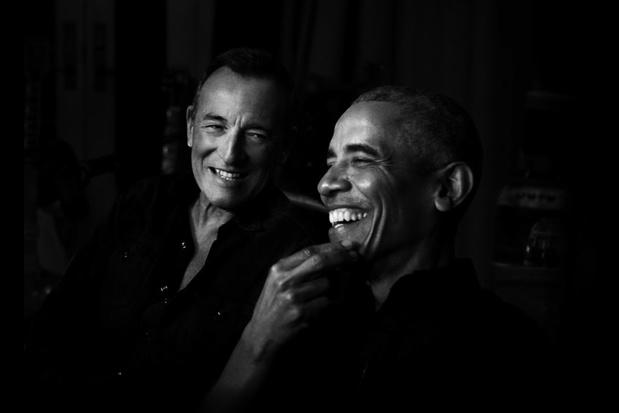 Spotify lanceert podcast met Bruce Springsteen en Barack Obama