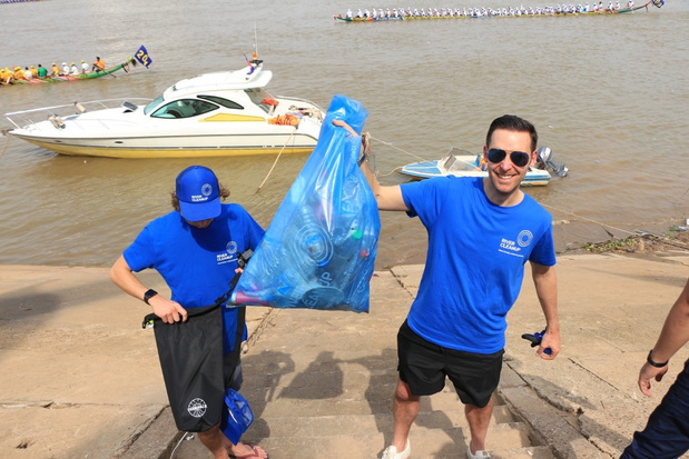 Oprichter River Cleanup over vrijwilligersacties: 'Rivieren verbinden mensen'