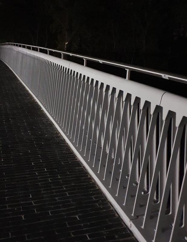 Verlichting Brigandsbrug in Ingelmunster werkt vaak niet