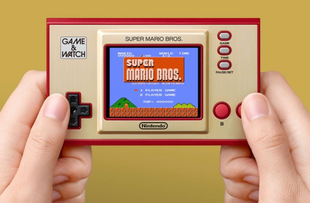 Mémoires de cristal: on a testé la nouvelle Game & Watch Super Mario Bros