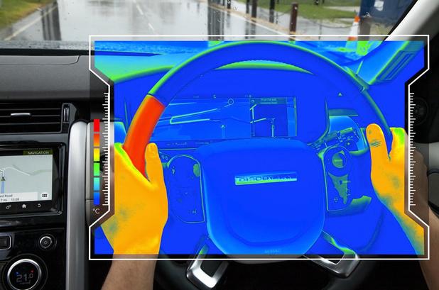 Jaguar Land Rover werkt aan sensitief stuur