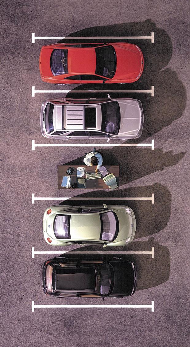 Plus de télétravail, moins de voitures?