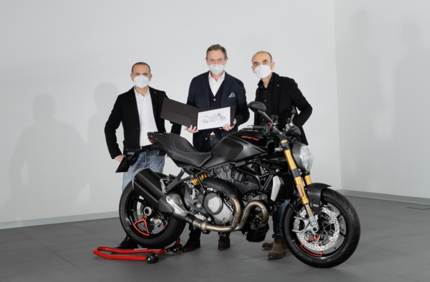 Déjà 350.000 Ducati Monster
