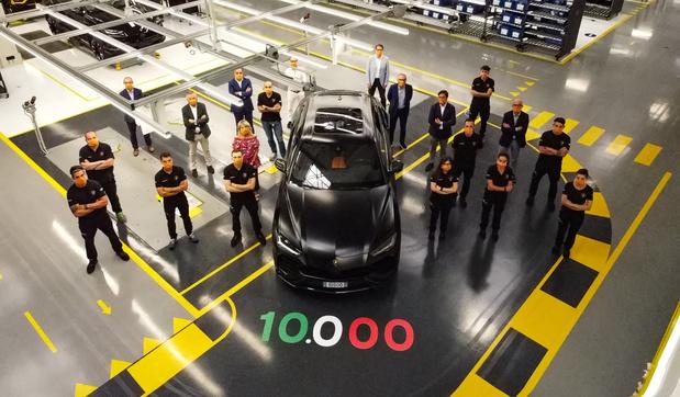 Déjà 10.000 Lamborghini Urus