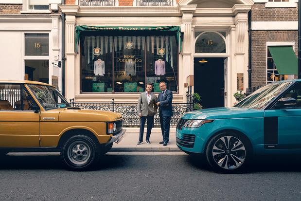 Range Rover produceert exclusief verjaardagjasje