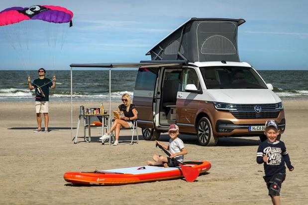 Volkswagen California 6.1 ondergaat kleine evolutie