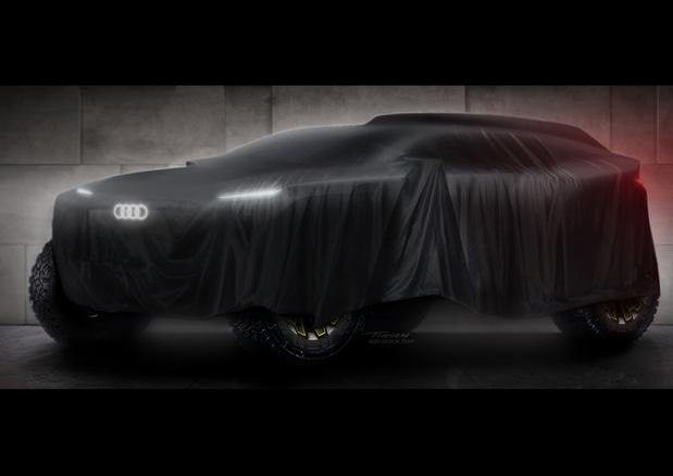 Audi à l'assaut des dunes du Dakar