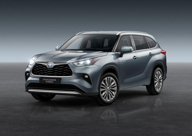 Toyota lanceert de Highlander zevenzitter in Europa