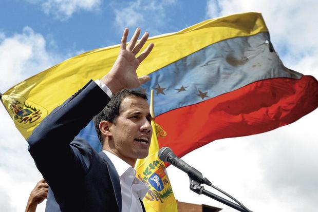 Juan Guaido, interim-president in Venezuela: 'Maduro bepaalt wie aan verkiezingen kan deelnemen'