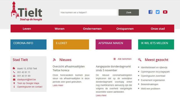 Tielt geeft voortaan lokale coronacijfers mee op stadswebsite