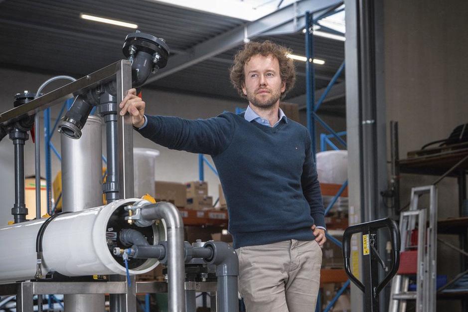 Pieter Loose (CEO Ekopak): 'Onze watervoetafdruk wordt steeds belangrijker'