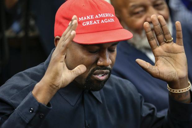 'De grootste verliezer is niet Biden of Trump, maar het ego van Kanye West'