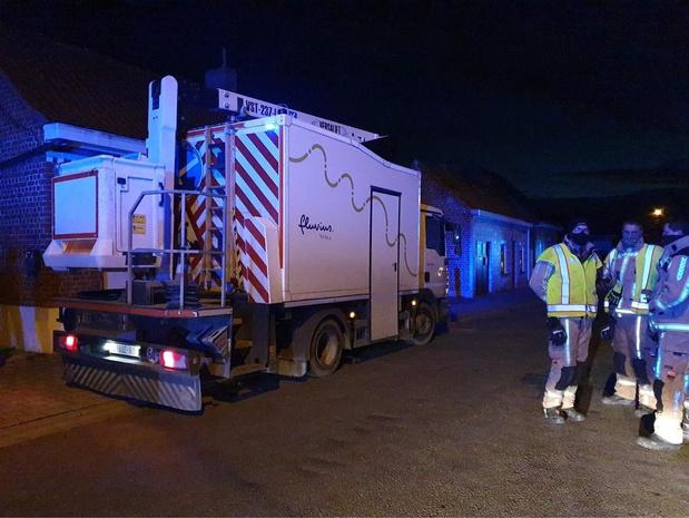 Bewoners ontsnappen aan erger na gaslek door renovatiewerken