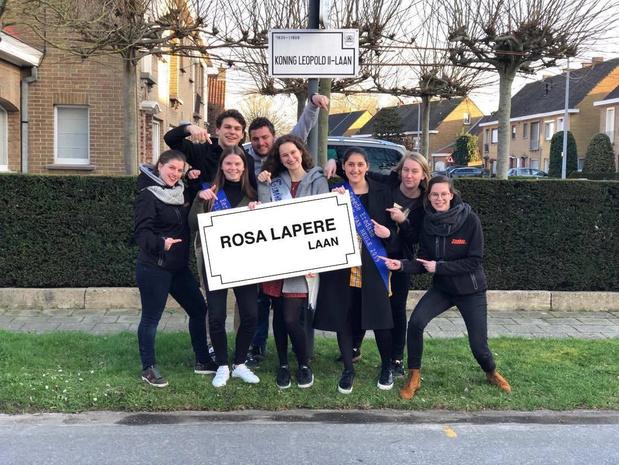 Rosa Lapere stoot Koning Leopold II van zijn troon: straatnaam voor 'moeder' Tinekesfeesten