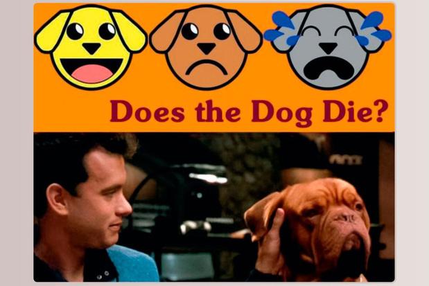 Het beu om honden te zien sterven in films? Deze website waarschuwt u voor popcultureel dierenleed