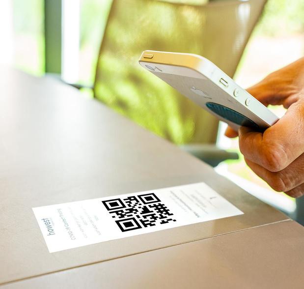 Howest plakt QR-codes om te zien wanneer studenten in welk lokaal zaten