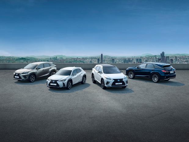 Un quart de million d'hybrides Lexus vendus en Europe
