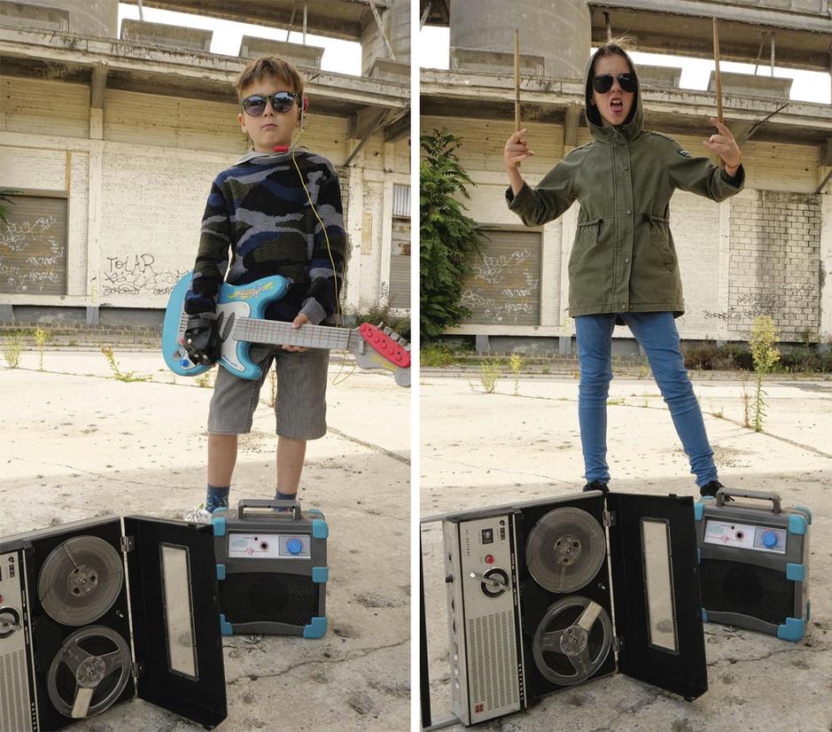 Kid noise: les enfants et le rock, de la récréation artisanale à la fabrique de stars