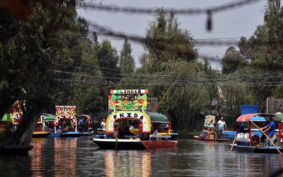 Les gondoles de Xochimilco au bord du naufrage (en images)
