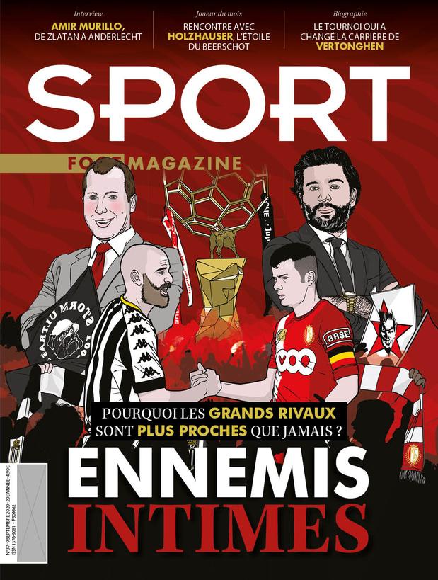 Au menu de Sport/Foot Magazine: Charleroi-Standard, les faux ennemis