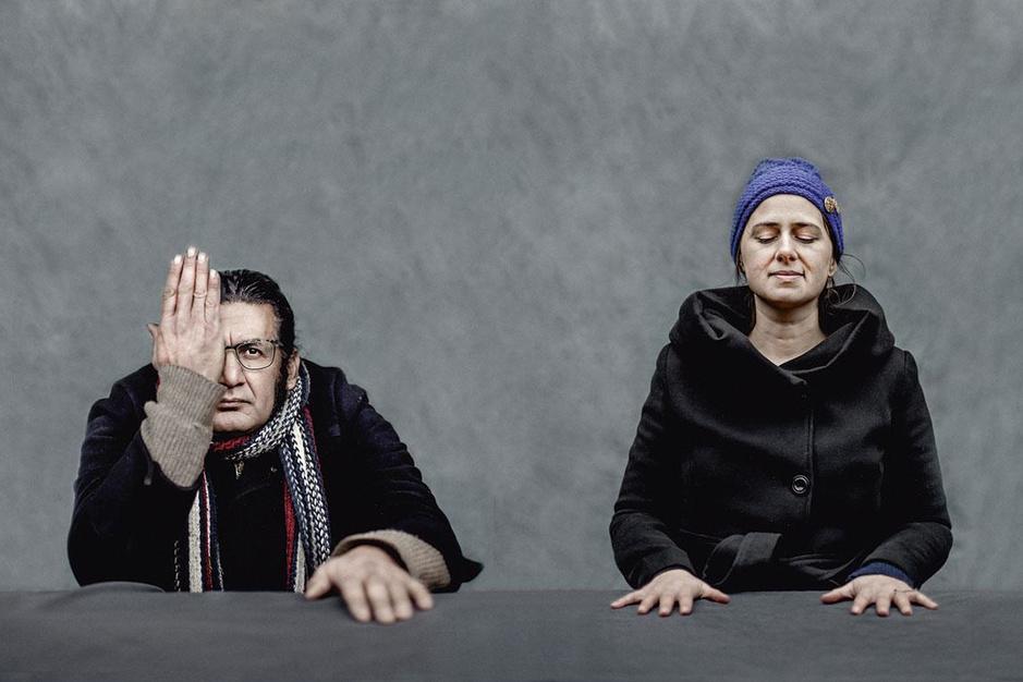 Dichters Rodaan Al Galidi en Maud Vanhauwaert: 'Poëzie is de mooiste manier van kreunen'