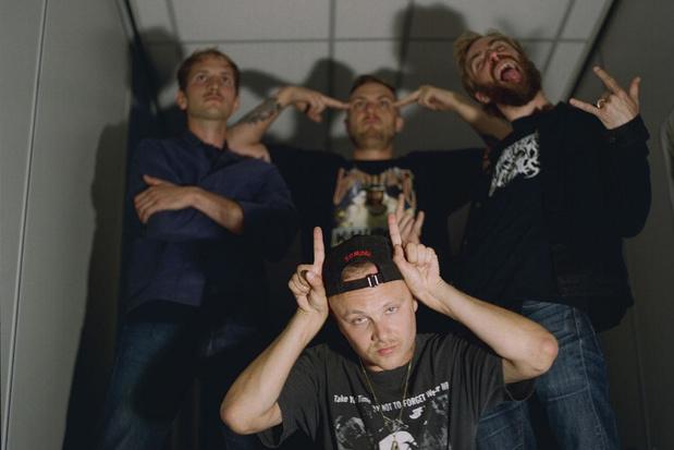 Maak je klaar voor de capslocktirades van Amsterdamse punkgroep Hang Youth