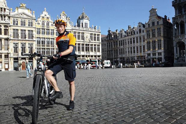Snelste politieman in België: 'Mijn vrouw zegt weleens dat ze met Brussel getrouwd is'