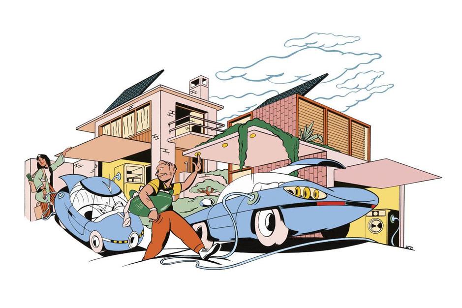 Kan ons net de elektrische bedrijfswagen aan? 'Leer de autobatterij als een gsm te gebruiken'