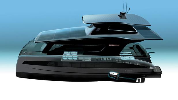 Volkswagen développe un yacht électrique