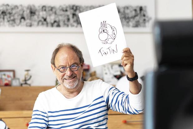 """Rencontre avec Pierre Kroll: """"Je suis un gamin qui n'a jamais cessé de dessiner"""""""
