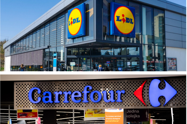 Rayons vides, magasins fermés: les coulisses des turbulences chez Carrefour et Lidl