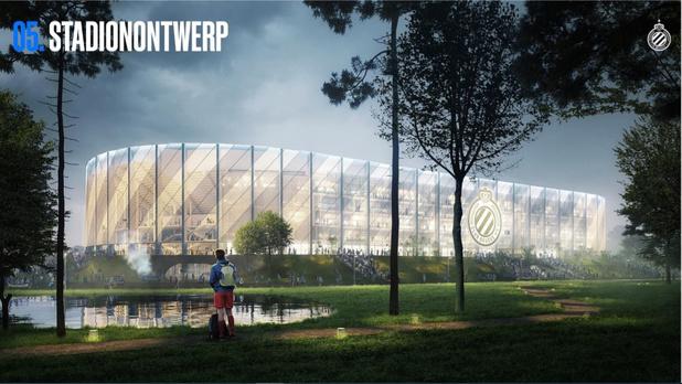 Club Brugge wil verleiden met zijn nieuw stadion