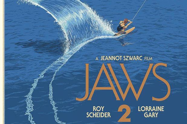 Laurent Durieux, de Belg die posters van 'Jaws' aan Steven Spielberg verkocht