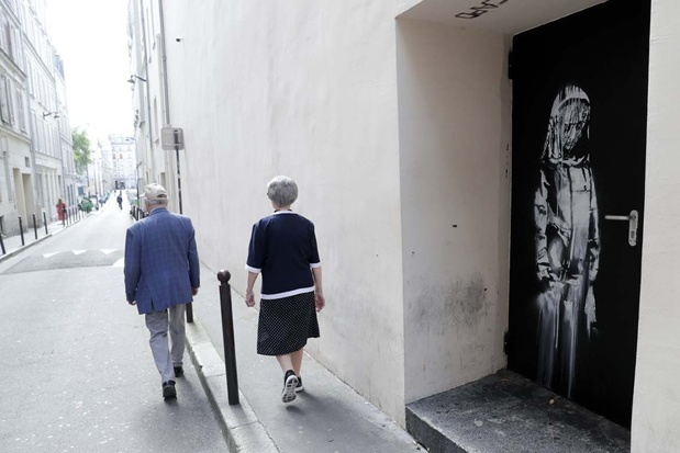 L'incroyable enquête du Banksy volé