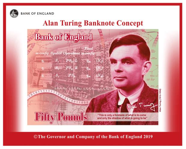 Le billet de banque britannique honore le pionnier IT Alan Turing
