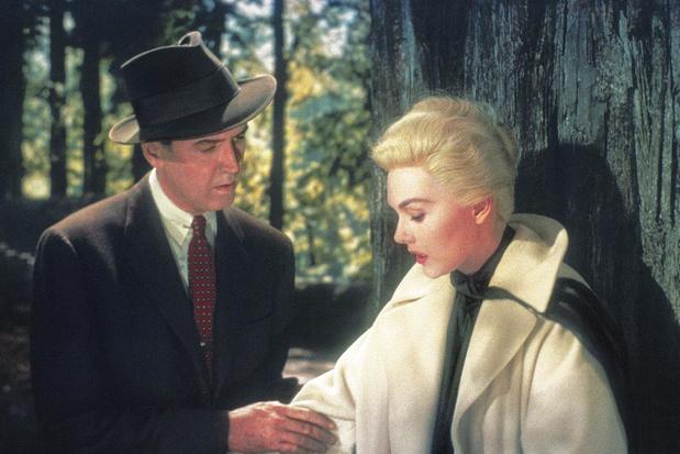 Tv-tip: 'Vertigo', nog altijd een van Hitchcocks beste films