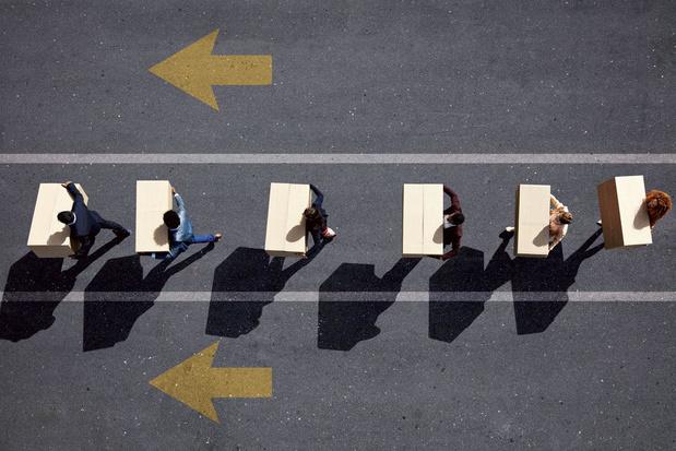 'De motor van de arbeidsmarkt draait maar op halve kracht'