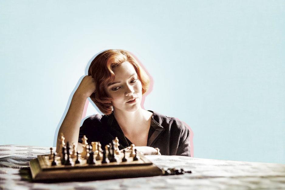 'The Queen's Gambit' probeert stiekem uw ideeën over obsessieve genieën bij te stellen