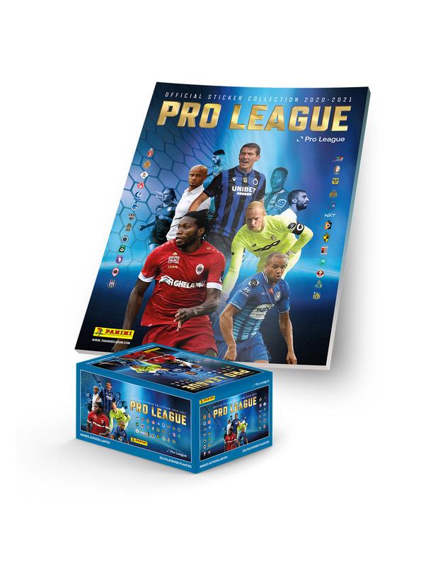 WIN een Panini Pro League album met stickerbox van 500 stickers