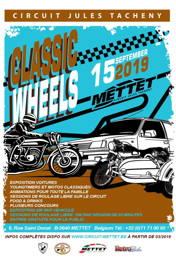 Classic Wheels 2019 in Mettet