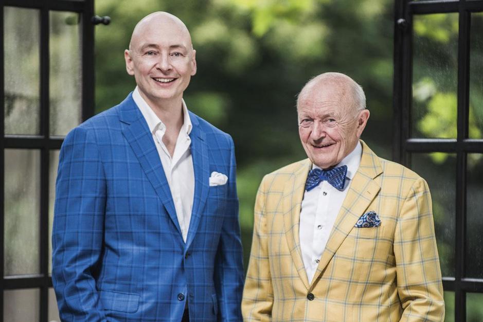 Leon Van Rompay (CEO Mithra) en zoon Stijn (CEO Hyloris): 'Het leven is te kort om altijd gezaag om je oren te hebben'