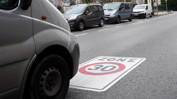 Zone 30 et covid à Bruxelles: moins de morts et de blessés