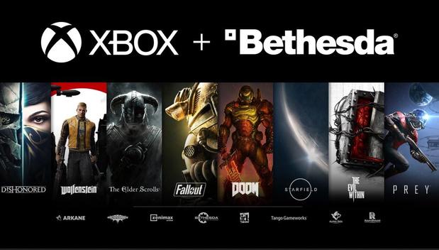 Microsoft rachète le développeur de jeux Bethesda