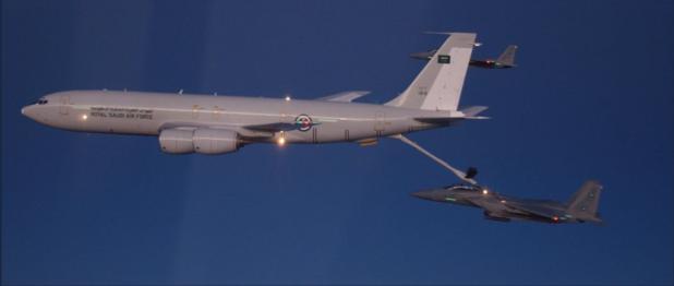 De Saudische luchtmacht, met Vlaamse onderdelen