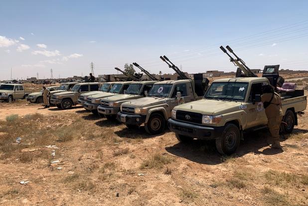 Duitsland, Frankrijk en Italië dreigen met sancties tegen landen die wapens naar Libië verschepen