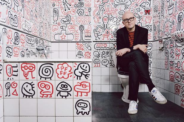 Cartoonist Lectrr: 'Ik zou niet graag in de schoenen staan van een gevestigd kunstenaar'