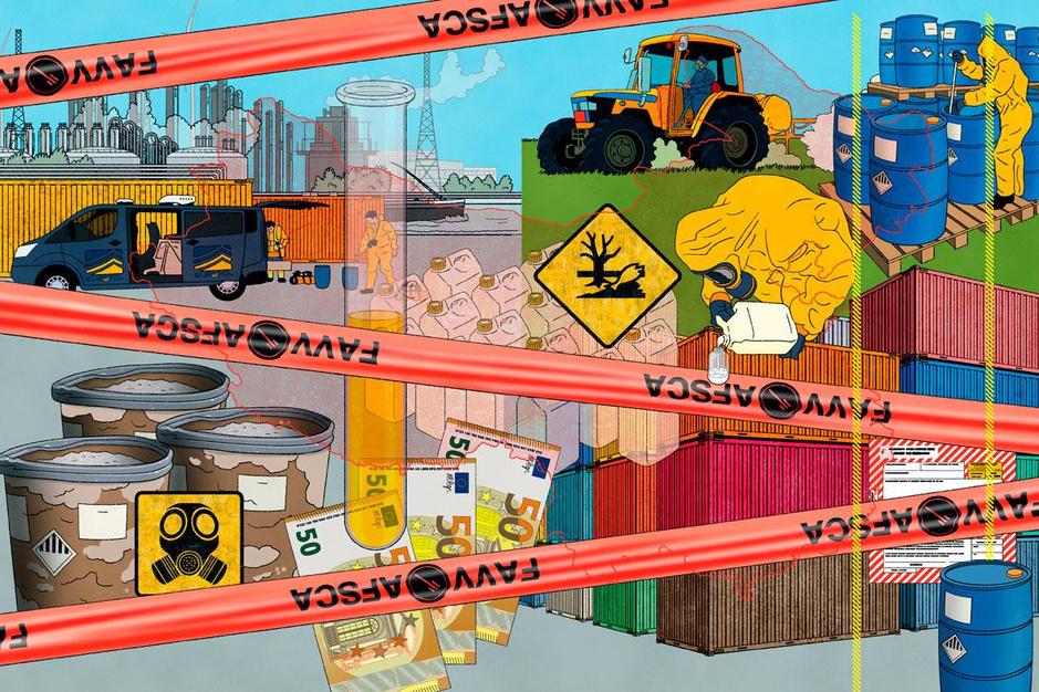 De perfecte misdaad: trafiek in illegale pesticiden