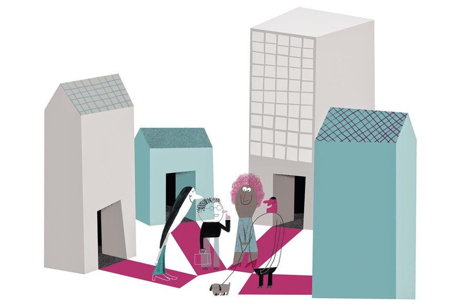 Burenliefde: 'Onderschat de kracht van een gesprek op straat niet'